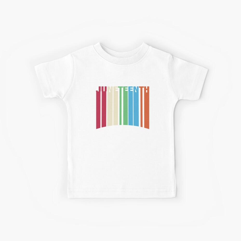 Juneteenth Retro Style Kids T-Shirt