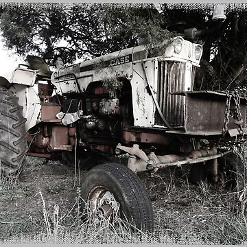Old Case Tractor by patmonty