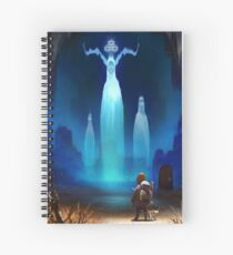 Journey of Anoh: Ancestral Spirits Spiral Notebook