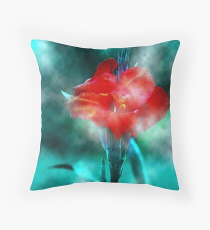 ~ Calla In The Mist ~ Throw Pillow