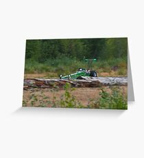 Dragster Greeting Card