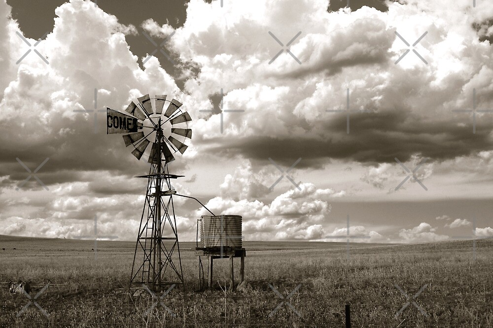 Windmill by Loren Sh