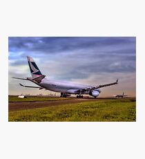 Cathay Pacific - Sydney Mascot Airport, NSW, Australia Photographic Print