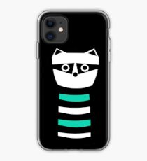 Troublesome Raccoon iPhone Case