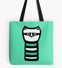 Troublesome Raccoon Tote Bag