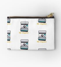 Retro Instant Camera Zipper Pouch