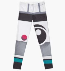 Retro Instant Camera Leggings