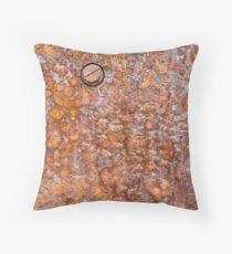 Rusty Boilerplate Throw Pillow