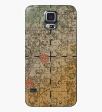 Here there be robots Case/Skin for Samsung Galaxy