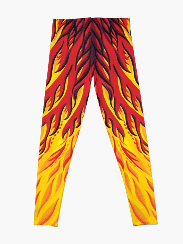 Alternate view of Fiery Phoenix  Leggings