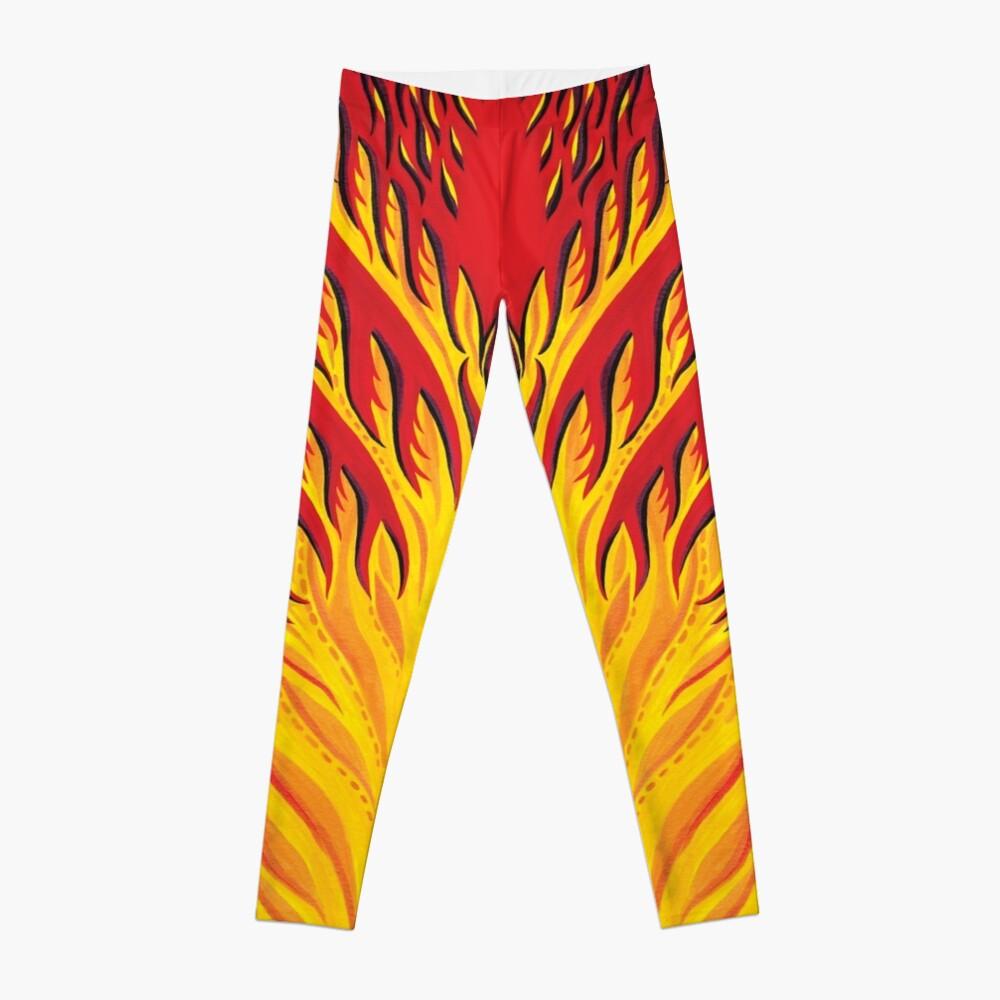 Fiery Phoenix  Leggings