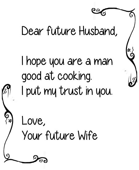 Dear Future Husband Photographic Prints By Echovolution Redbubble