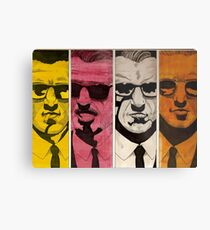 reservoir dogs blonde pink white orange Metal Print