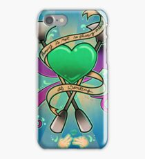Having and Wanting tattoo print iPhone Case/Skin