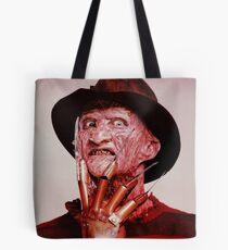 Nightmare On Elm Street 2: Freddy's Revenge Vintage Poster Tote Bag