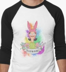Louise Belcher Men's Baseball ¾ T-Shirt