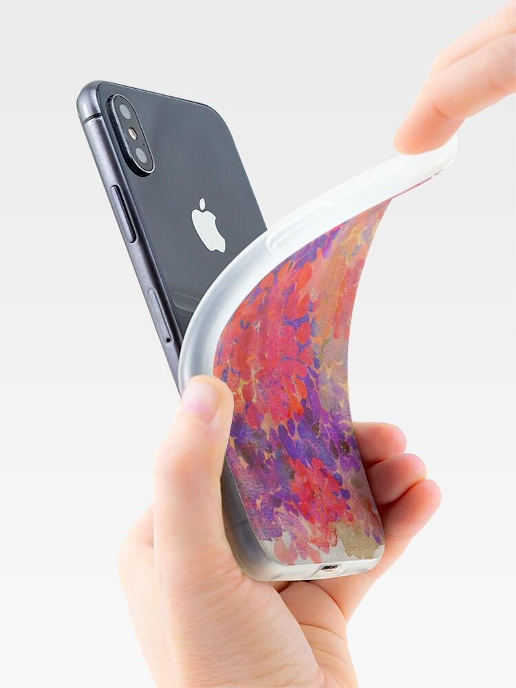 Alternative Ansicht von florale Komposition iPhone-Hülle & Cover