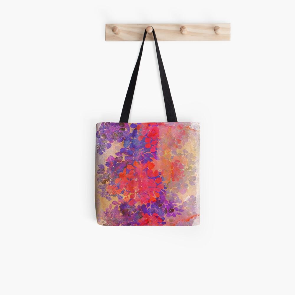 florale Komposition Stofftasche