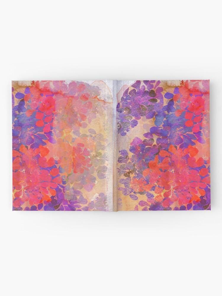 Alternative Ansicht von florale Komposition Notizbuch