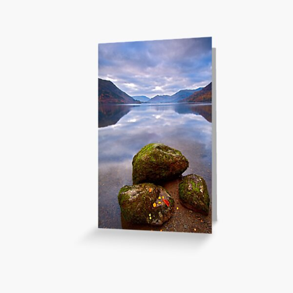 Ullswater - Early Morning Greeting Card