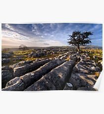 Limestone Country, Ribblesdale - The Yorkshire Dales Poster