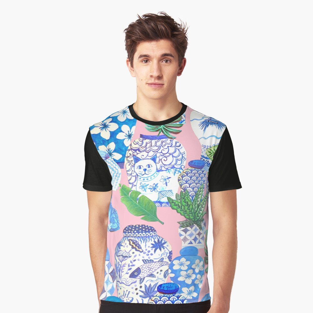 chinese ginger jars Graphic T-Shirt