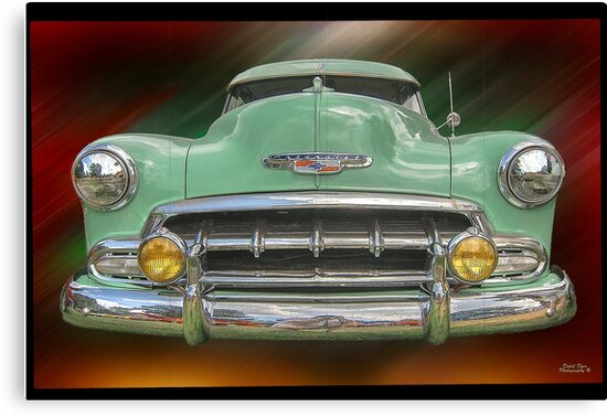 """Child of the 50's - 1952 Chevrolet Deluxe by Michael """" Dutch """" Dyer"""