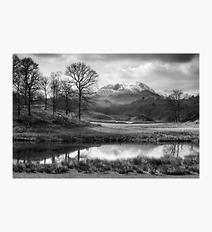 Wetherlam and the River Brathay. Photographic Print