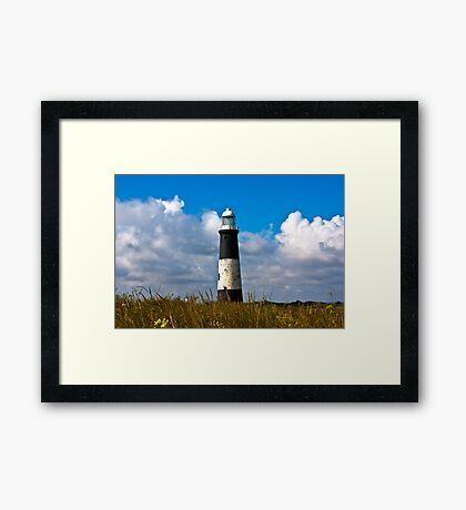 Spurn Point Lighthouse Framed Print
