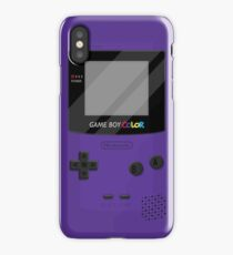 Gameboy Color 2.0 - Lila iPhone-Hülle & Cover