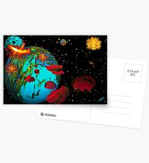 Asteroidday Postcards