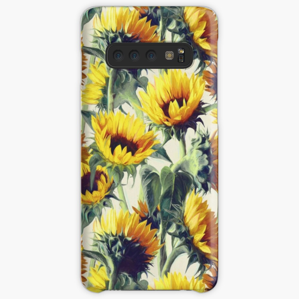 Sunflowers Forever Case & Skin for Samsung Galaxy
