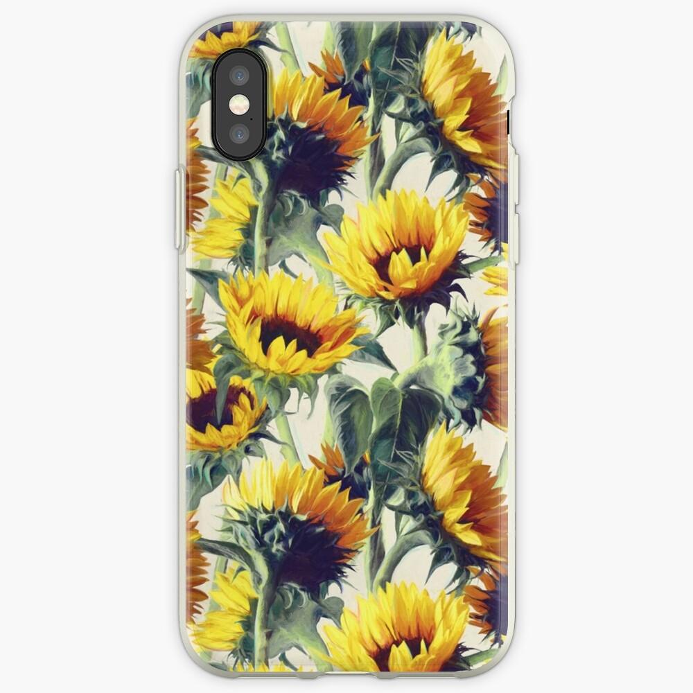 Sonnenblumen für immer iPhone-Hülle & Cover