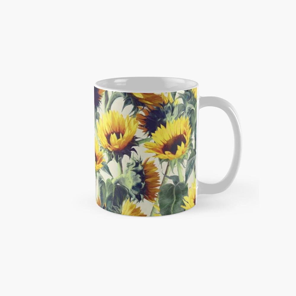 Sonnenblumen für immer Tasse