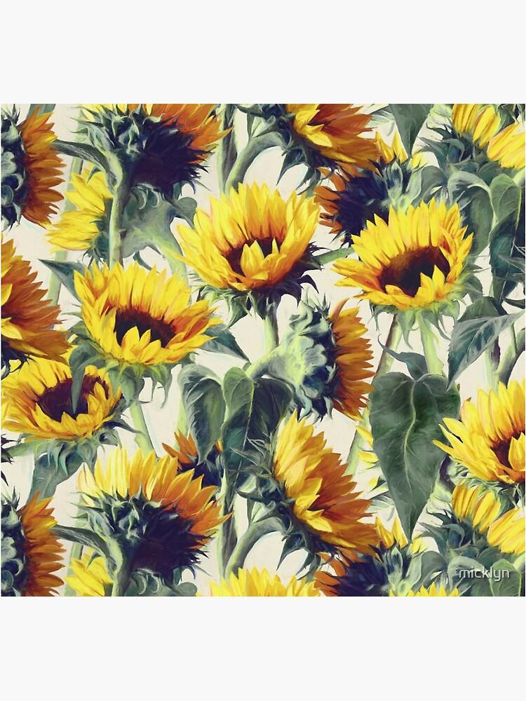 Sonnenblumen für immer von micklyn