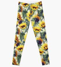 Sonnenblumen für immer Leggings