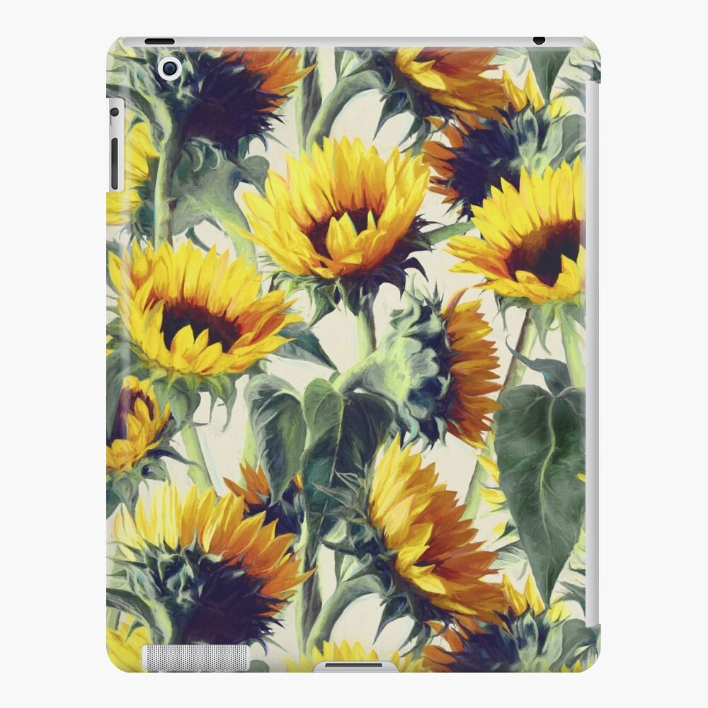 Sunflowers Forever iPad Case & Skin