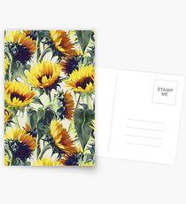Sonnenblumen für immer Postkarten