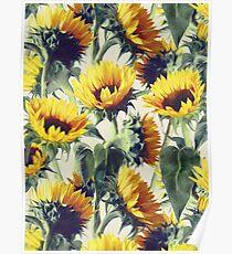 Sonnenblumen für immer Poster