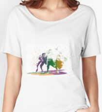 Bison in a colour storm Relaxed Fit T-Shirt