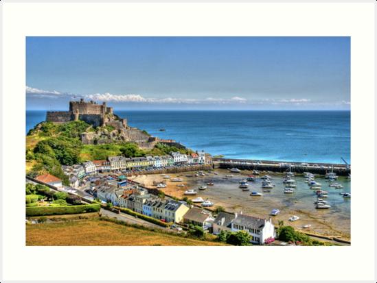 """Views over Gorey Bay, Jersey"" by Bradley Shawn  Rabon"