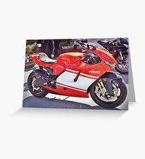 desmo Greeting Card