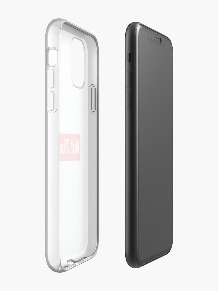 Coque iPhone «Pas Tfue / zZURP.», par zZurp
