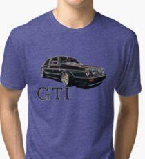 Mark 2 Volkswagen Golf GTI Tri-blend T-Shirt