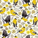 Goldfinches  by TigaTiga