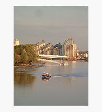 River Thames Photographic Print