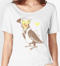 Cockatiel Maid Women's Relaxed Fit T-Shirt
