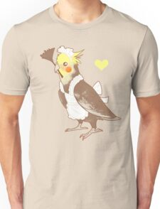 Cockatiel Maid Unisex T-Shirt