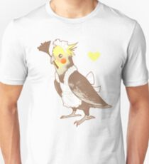 Cockatiel Maid Slim Fit T-Shirt