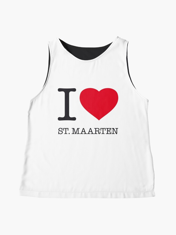 Alternate view of I ♥ ST. MAARTEN Sleeveless Top